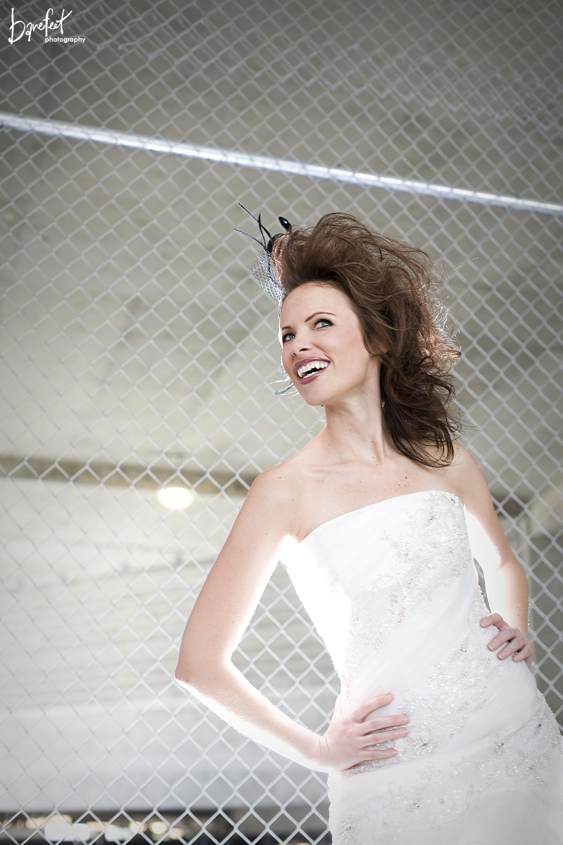 Amazing hair on a beautiful bride in Dallas